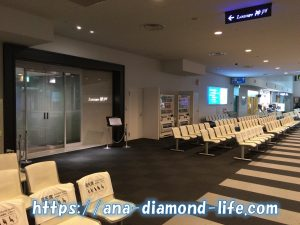 神戸空港カードラウンジ前