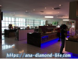 SATS Premier Club Lounge buffet2