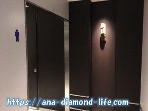 伊丹空港ANAラウンジトイレ入口